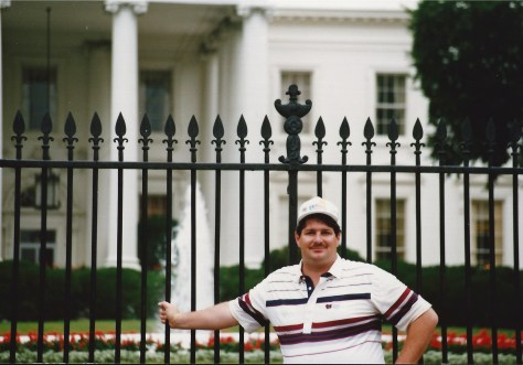 Sumoflam at the White House - July 1990