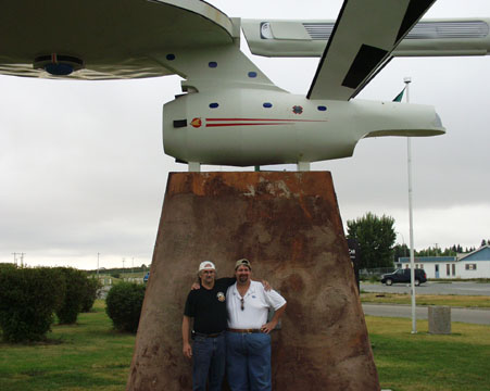 At the Starship Enterprise in Vulcan, Alberta 2007