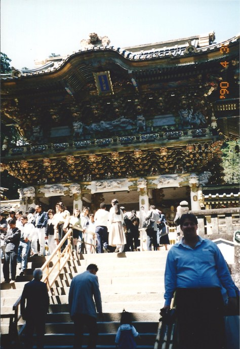 "Perhaps the best ""old shrine"" in Japan, Nikko has been around for centuries.  This is north of Tokyo.  I visited Nikko in 1990."