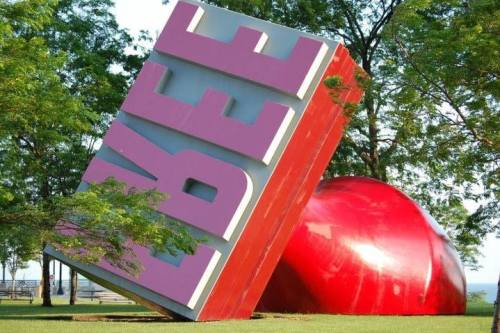 World's Largest Rubber Stamp - FREE