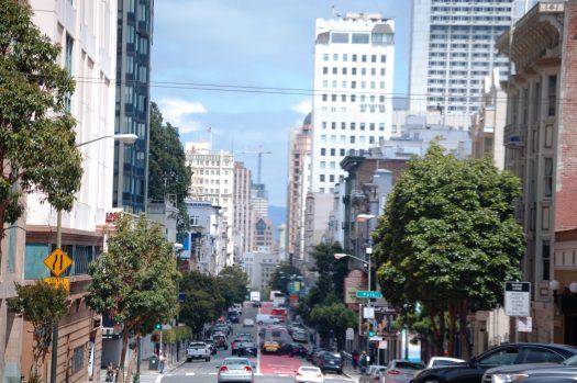A look towards downtown San Francisco
