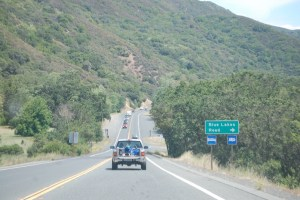 CA Hwy 20 goes through scenic hill country
