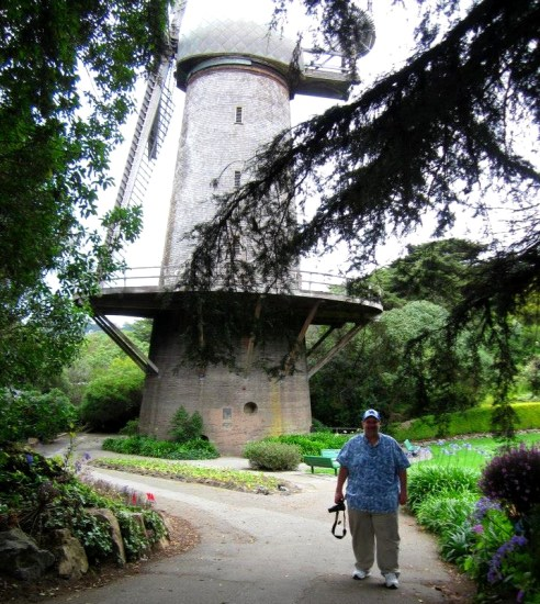 Dutch Windmill (North Windmill) in Golden Gate Park