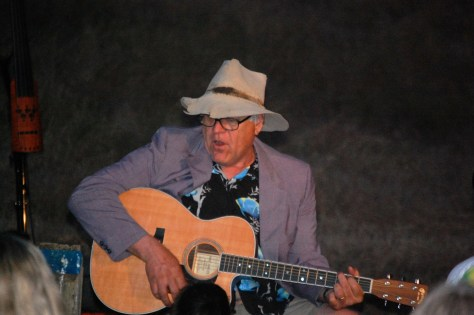 Uncle Fred singing songs around the campfire...yes THOSE songs (Like Old McDonald...)