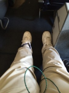 Best seat and best leg room...loved it.