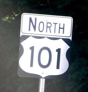US Hwy 101 in Washington