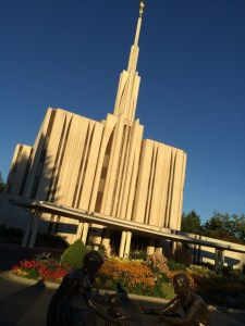 The LDS Seattle Temple