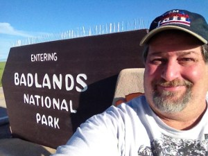 Badlands National Park in SD