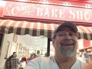 At Carlos Bake Shop in Hoboken, NJ in 2015