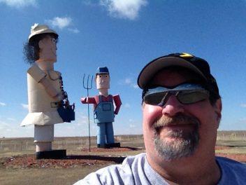 On the Enchanted Highway in Western North Dakota in 2013