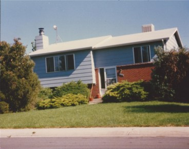 Our home in Lakewood, Colorado ca. 1969