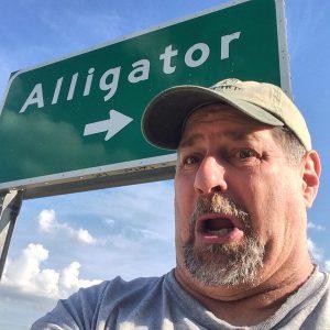 One of my favorite shots...Alligator, MS