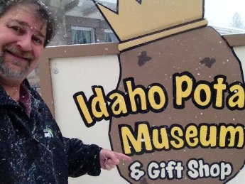 At the Idaho Potato Museum in 2013