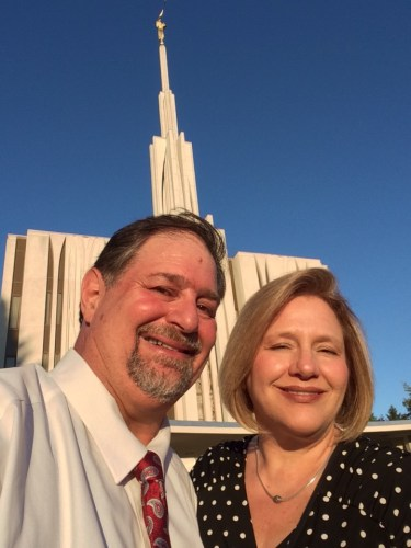 At Seattle Temple