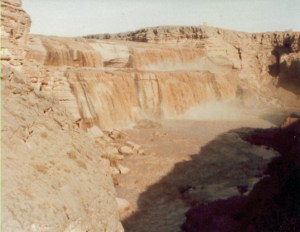 Falls of the Little Colorado River on the Navajo Indian Reservation.  Took this photo in 1983