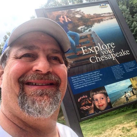 Selfie - Explore the Chesapeake at the Rest Area