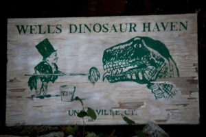 Wells Dinosaur Haven in Uncasville, CT