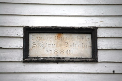 Old Plaque on Church
