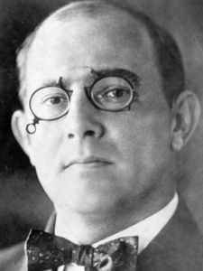 Carl Fisher, creator of the numbered highway system and also the Indianapolis Speedway