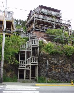 House on Stilts in Ketchikan