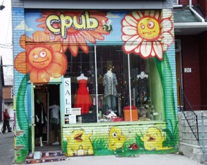 CPub Clothing Shop in Kensington