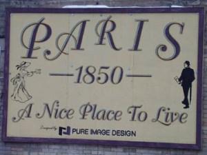 Welcome to Paris, Ontario