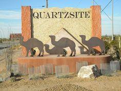 Welcome to Quartzsite, AZ