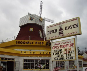 Dutch Haven Restaurant, Home of the famed Amish Shoo Fly Pie, located in Ronks, PA just down the road from Intercourse