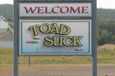 Toad Suck, Arkansas
