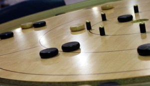 Tavistock Arena, Tavostock, Ontario - Home of the World Crokinole Championships