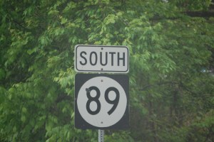 Kentucky Highway 89 south out of Winchester