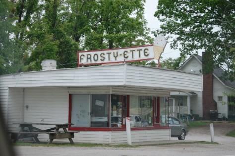 An old Frosty-ette Drive in in Sand Gap, KY. I love these old places