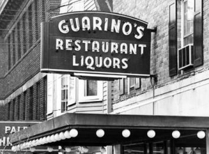 Guarino's sign in 1964