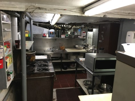 Guarino's Basement Kitchen ca 2016