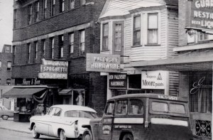 Another scene of Little Italy in the 1950s
