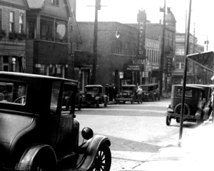 This is an early image of Little Italy from the 1920s