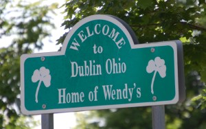Welcome to Dublin, OH, Home of Wendy's