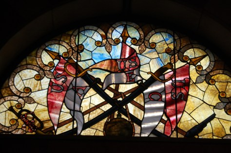 Another of the Stained Glass Windows in the monument
