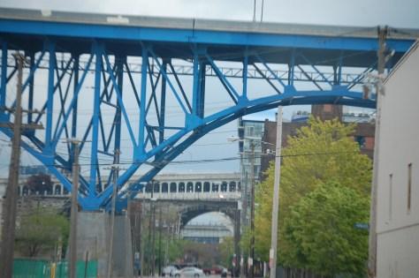 Cleveland is a city of bridges