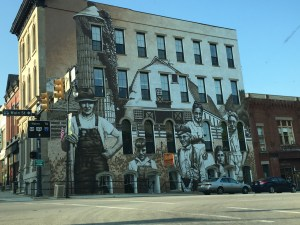 Large Mural in Wilmington, OH