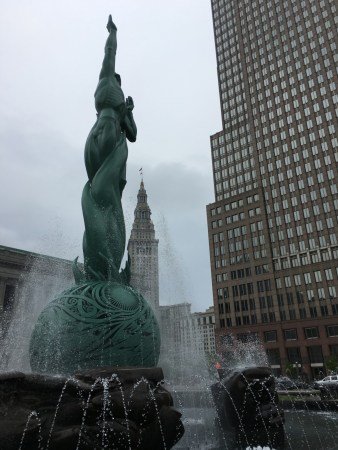 Cleveland's Fountain of Eternal Life