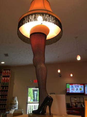 Leg Lamp from A Christmas Story. Now anyone can get one!