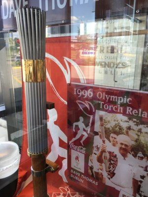 Olympic Torch from the