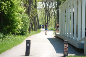 Towpath Trail as seen from the Boston Visitor's Center