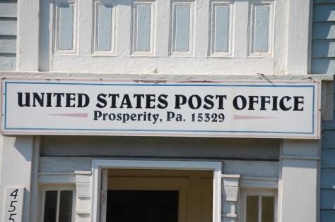Prosperity Post Office in Pennsylvania