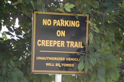 For obvious reasons....no parking