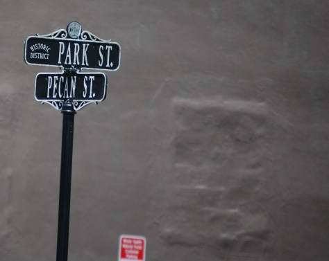 Street corner in Abingdon, VA