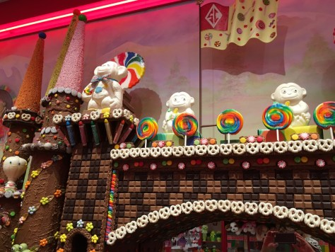 Closeup of Castle Decor at Sarris
