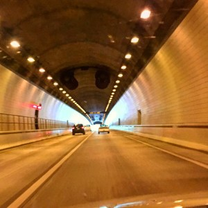 Cumberland Gap Tunnel where Kentucky, Virginia and Tennessee meet