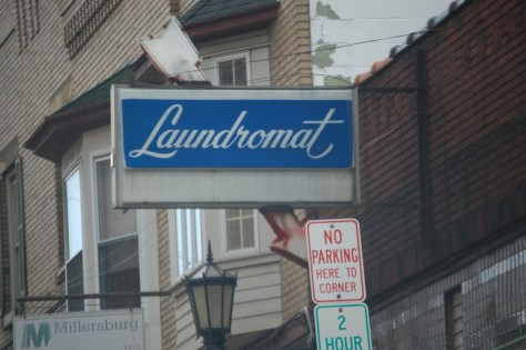 Old Laundromat Sign, Millersburg, OH